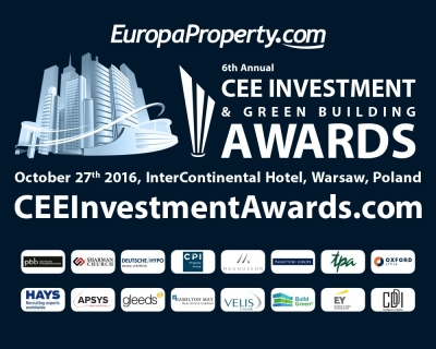 EuropaProperty ogłasza listę nominowanych do 6. CEE Investment & Green Building Awards
